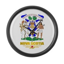 Nova Scotia COA Large Wall Clock