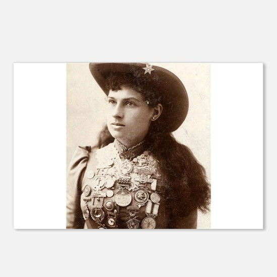 annie oakley Postcards (Package of 8)