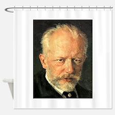 tchaikovsky Shower Curtain