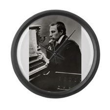 rachmaninoff Large Wall Clock