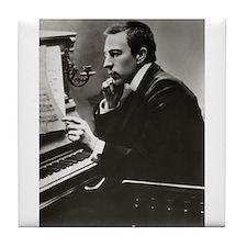 rachmaninoff Tile Coaster