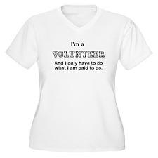 VOLUNTEER Plus Size T-Shirt