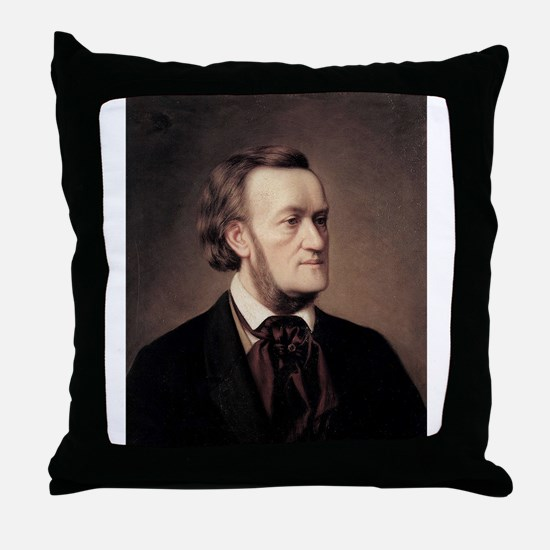 richard,wagner Throw Pillow