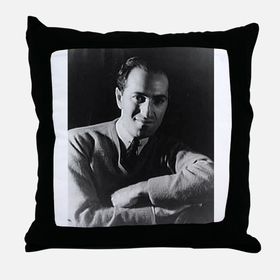george gershwin Throw Pillow