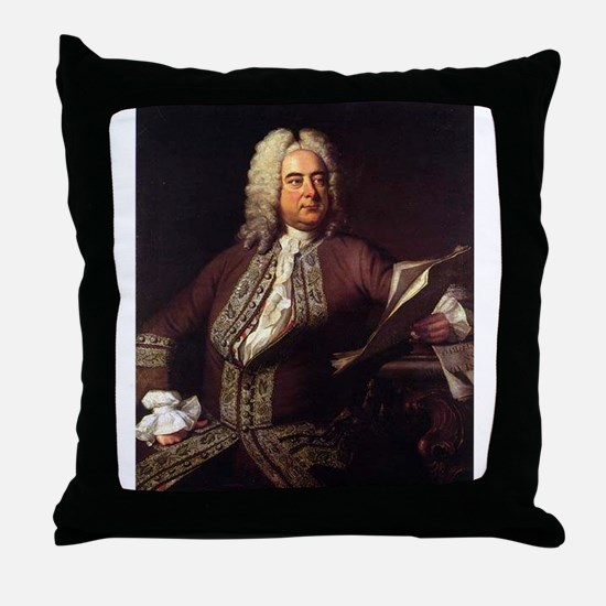 handel Throw Pillow