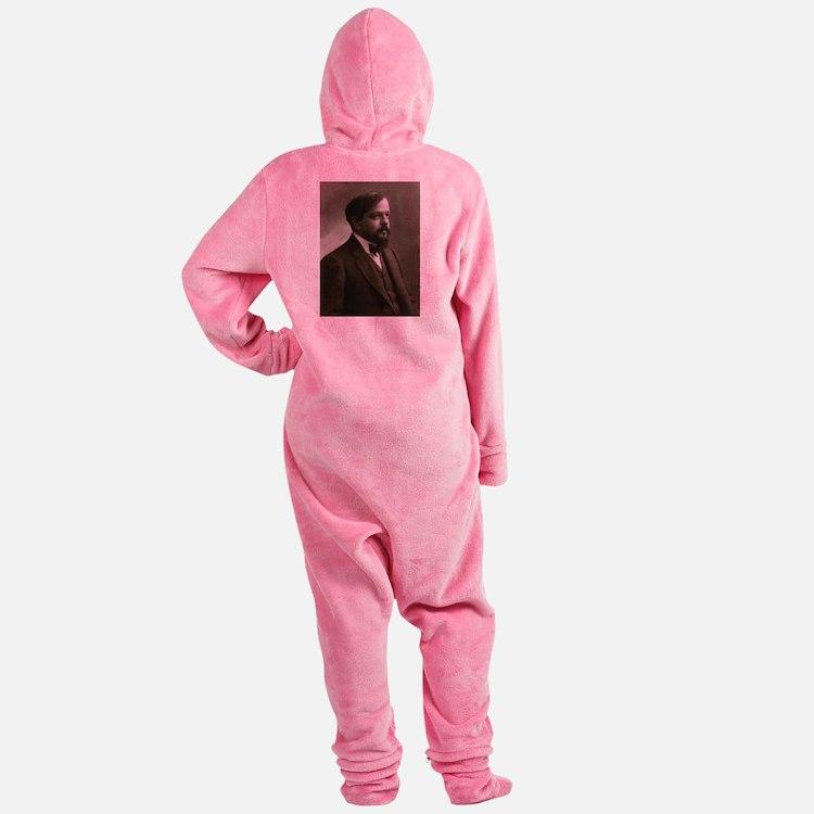 claude debussy Footed Pajamas