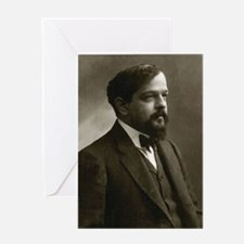 claude debussy Greeting Cards