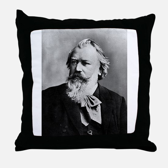 brahms Throw Pillow