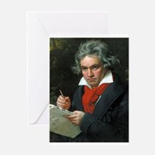 beethoven Greeting Cards
