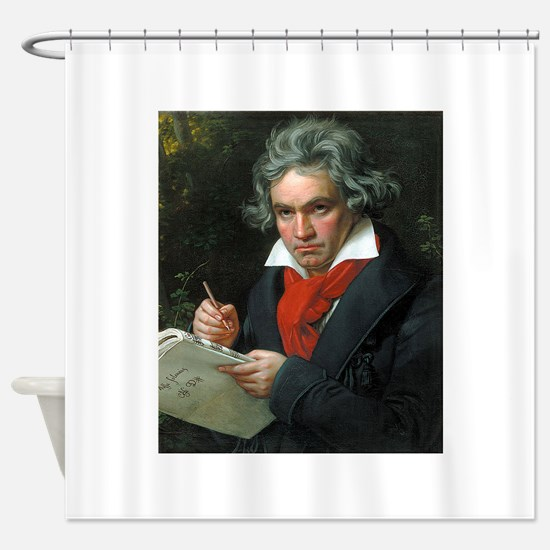 beethoven Shower Curtain