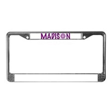 Cute Madison License Plate Frame