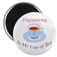Engineering is my cup of tea Magnet