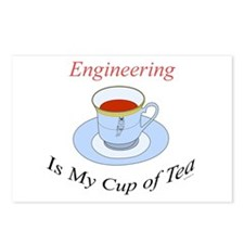 Engineering is my cup of tea Postcards (Package of