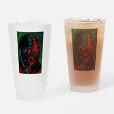 Distorted Memory Drinking Glass
