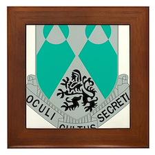 2nd Army Military Intelligence Battali Framed Tile
