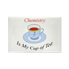 Chemistry is my cup of tea Rectangle Magnet