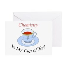 Chemistry is my cup of tea Greeting Cards (Package