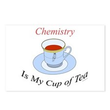 Chemistry is my cup of tea Postcards (Package of 8
