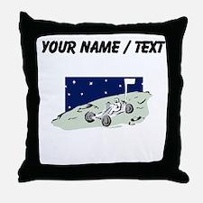 Custom Lunar Rover Throw Pillow