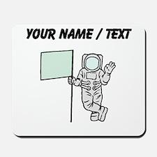 Custom Astronaut With Flag Mousepad