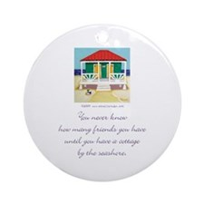 Beach Friends Ornament (Round)