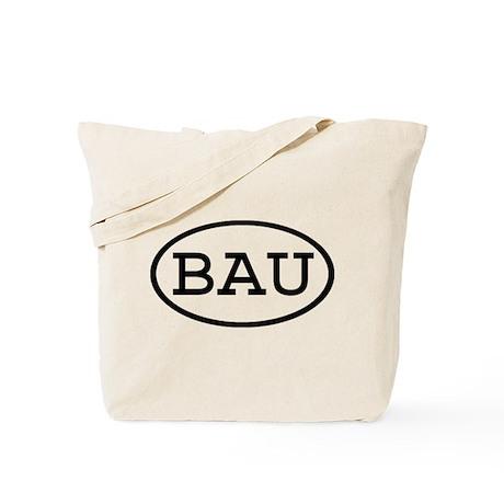 BAU Oval Tote Bag