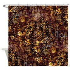 Abstract Glam Jungle Shower Curtain