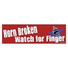 Horn Broken Bumper Stickers