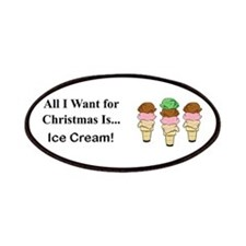 Christmas Ice Cream Patches