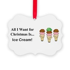 Christmas Ice Cream Ornament