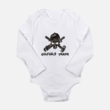 Unique Oil trash Long Sleeve Infant Bodysuit