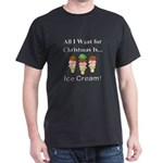 Christmas Ice Cream Dark T-Shirt