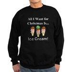 Christmas Ice Cream Sweatshirt (dark)