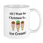 Christmas Ice Cream Mug
