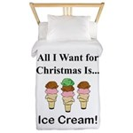 Christmas Ice Cream Twin Duvet