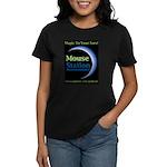 MouseStation Logo Women's Dark T-Shirt