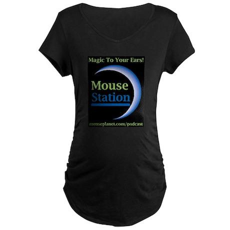 MouseStation Maternity Dark T-Shirt