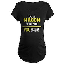 Funny Macon T-Shirt