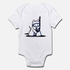 Scuba Westie Infant Bodysuit
