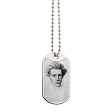 soren kierkegaard Dog Tags