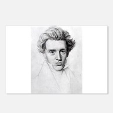 soren kierkegaard Postcards (Package of 8)