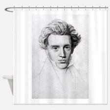 soren kierkegaard Shower Curtain