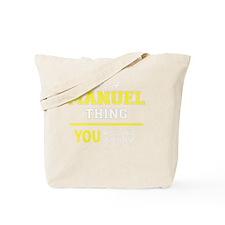 Funny Manuel Tote Bag