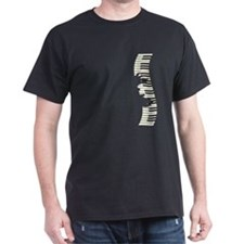 Unique Piano and keyboard T-Shirt