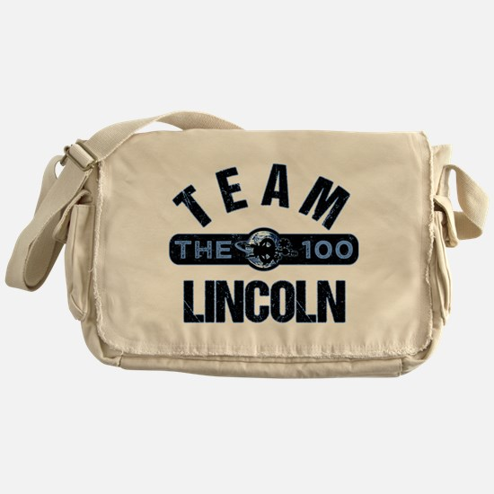 The 100 Team Lincoln Messenger Bag