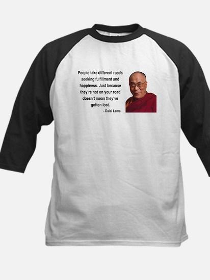 Dalai Lama 2 Kids Baseball Jersey