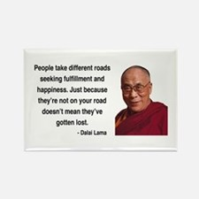 Dalai Lama 2 Rectangle Magnet
