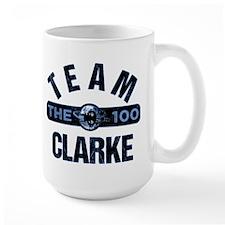 The 100 Team Clarke Mugs