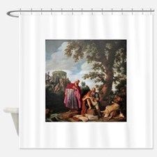 hippocrates Shower Curtain