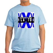 "Klayton ""Blue X"" T-Shirt"